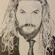 Jason Mamoa Art Print