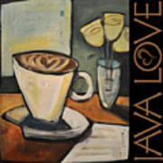 Java Love Poster Art Print