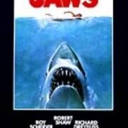 Jaws Movie Poster - 1975 Art Print