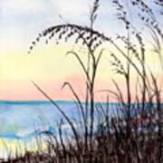 Jax Beach Art Print