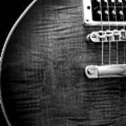 Jay Turser Guitar Bw 1 Art Print