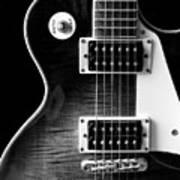 Jay Turser Guitar Bw 4 Art Print