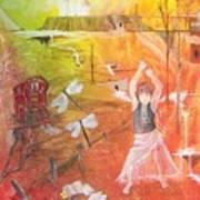 Jayzen - The Little Gypsy Dancer Art Print