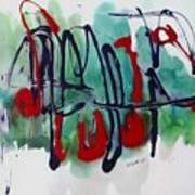 Jazz 2nd Series Painting 5 Art Print