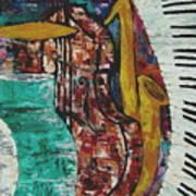 Jazz Art Print by Andrea Vazquez-Davidson