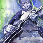 Jazz B B King 02 Art Print