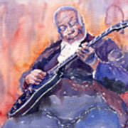 Jazz B.b. King 03 Art Print
