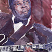 Jazz B B King Art Print