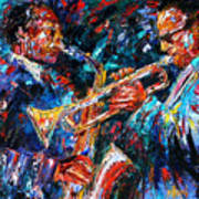 Jazz Brothers Art Print