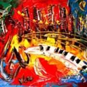 Jazz City Art Print