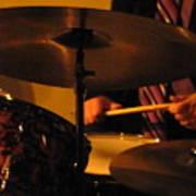 Jazz Drums Art Print