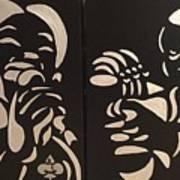 Jazz Duel Art Print