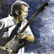 Jazz Eric Clapton 1 Art Print