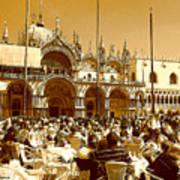 Jazz In Piazza San Marco Art Print