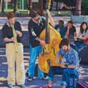 Jazz In The Park Art Print