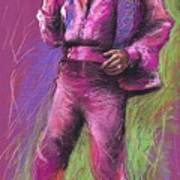 Jazz James Brown Art Print