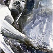 Jazz Marcus Miller 01 Art Print