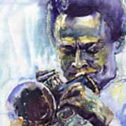 Jazz Miles Davis 10 Art Print