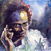 Jazz Miles Davis 11 Art Print