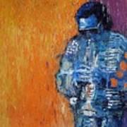 Jazz Miles Davis 2 Art Print