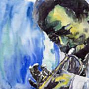 Jazz Miles Davis 5 Art Print
