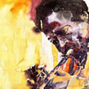 Jazz Miles Davis 6 Art Print