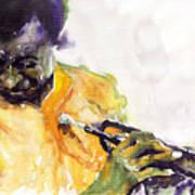 Jazz Miles Davis 7 Art Print