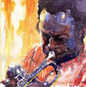 Jazz Miles Davis 8 Art Print
