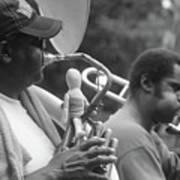 Jazz Musicians  Art Print