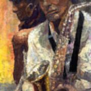 Jazz Muza  Art Print