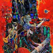 Jazz Orchestra 4 Art Print