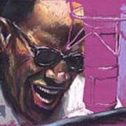Jazz Ray Art Print by Yuriy  Shevchuk