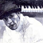 Jazz Roberto Fonseca Art Print by Yuriy  Shevchuk