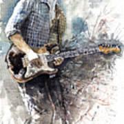 Jazz Rock John Mayer 05  Art Print