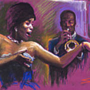 Jazz Song.2. Art Print