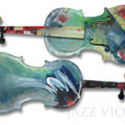Jazz Violin - Poster Art Print