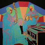 Jazzamatazz Band Art Print