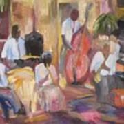Jazzin Art Print