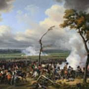 Jean Horace Vernet   The Battle Of Hanau Art Print