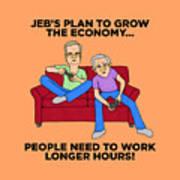 Jeb Bush Art Print