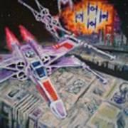 Jedi Run Art Print