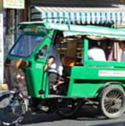 Jeepney 03 Art Print