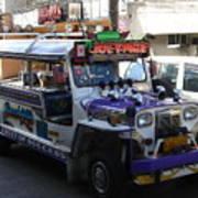 Jeepney 06 Art Print