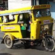 Jeepney 07 Art Print