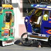 Jeepney 09 Art Print