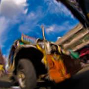 Jeepney 62932501 Art Print