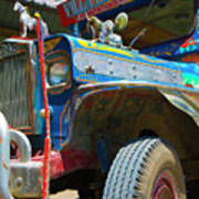 Jeepney Art Print