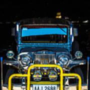 Jeepney, Manila Art Print