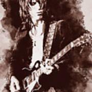 Jeff Beck - 01 Art Print