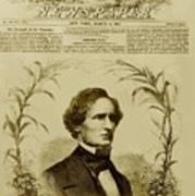 Jefferson Davis 1808-1889, First Art Print